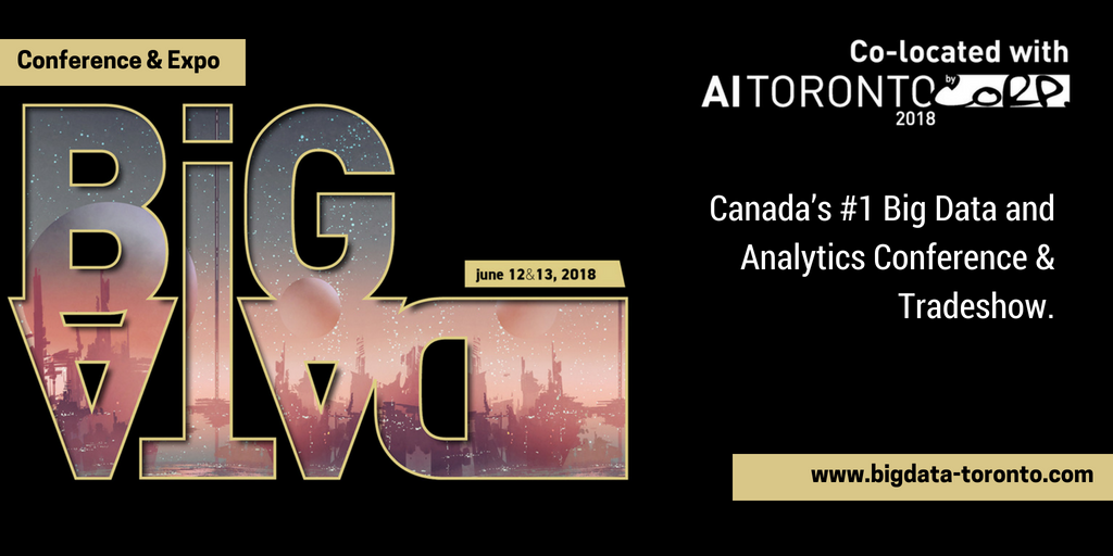 Join Us at Big Data Toronto 2018!
