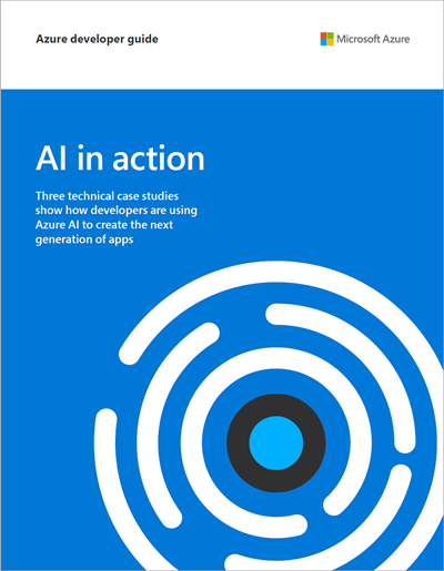 AI in Action—explore three technical case studies in one guide Image