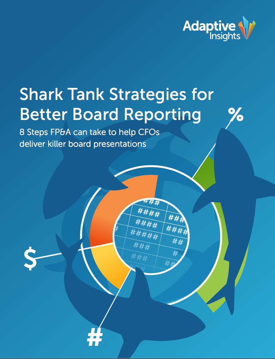 Shark Tank Strategies for Better Board Reporting Image