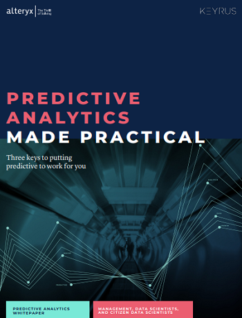 Make Predictive Analytics Your Future Image