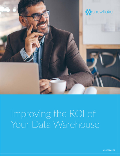 Improving the ROI of Your Data Warehouse Image