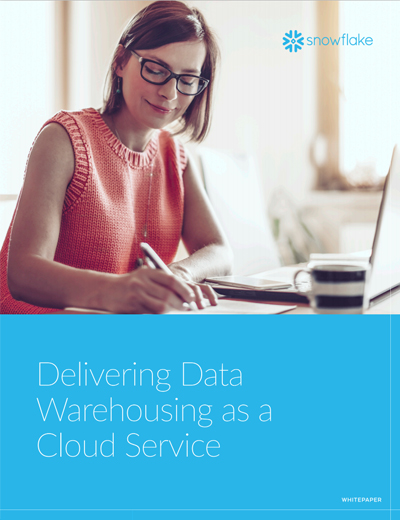 Delivering Data Warehousing as a Cloud Service Image
