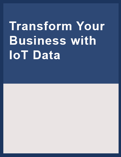 Discover more value in your IoT data Image