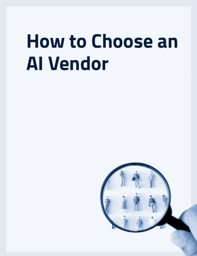 How to Choose an AI Vendor Image